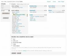 Here is an image showing what Administrating Views Horizontal Slider will look l