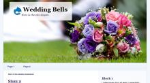 Wedding Bells Drupal Theme