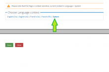 Context switch links