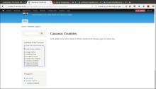 Screenshot of blocks in drupal created by custom module