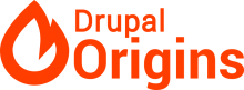 Drupal Origins by La Drupalera - Emergya. Logo
