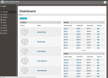ERPAL Platform dashboard screenshot