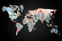 World currency map by The310Investigator