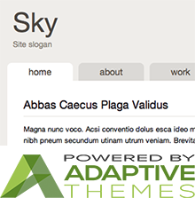 Sky - Powered by Adaptivethemes