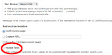 Webform Field Repeat setting on Form settings