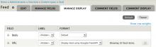 Select the Google FeedAPI formatter