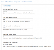 Admin Page Screenshot