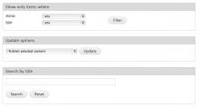 Search by title Drupal