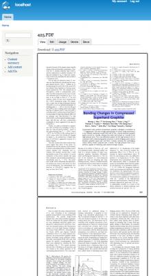 Drupal, pdf.js, shenzhuxi, html5