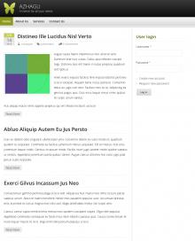 Azhagu Responsive Desktop Screenshot