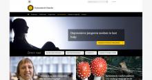 Example site Universiteit Utrecht
