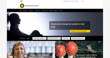 Example site Universiteit Utrecht