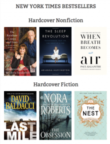 New York Times Best Sellers on highlandlibrary.org