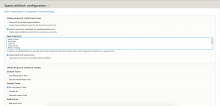 SpamLinkBlock Configuration