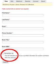 Webform Field Repeat check box on individual webform