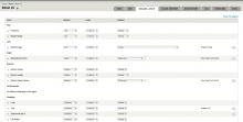 Screenshot of 'Manage Layout' tab on node