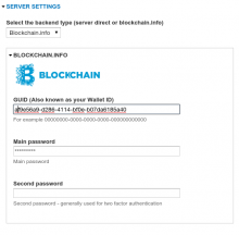 Blockchain.info integration