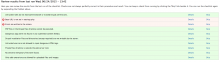 Security review example results page