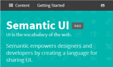 Semantic UI Integration With Drupal