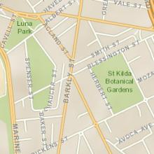 Esri Topo map