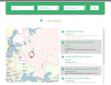 Yandex Store List