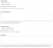 Advanced Link settings in Drupal 7
