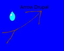 ArrowDrupal Logo