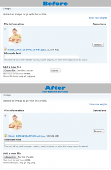 Automatic upload for Drupal file fields.