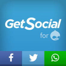 Social Sharing Buttons for Drupal