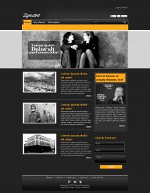 Black Blog home page