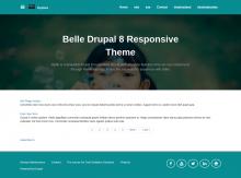 Belle -  Drupal 8 Responsive theme
