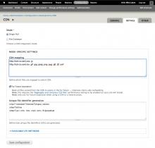 CDN module version 2.5 on Drupal 7