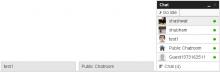 DrupalChat Online User List