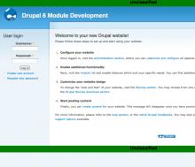 Image of screenshot module display.