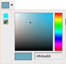Color Field - Spectrum Widget
