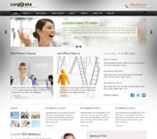 Corporate Site is a theme for corporate websites, based on Twitter Bootstrap.