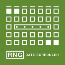 RNG Date Scheduler Logo
