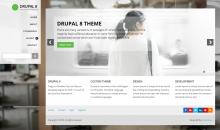 Drupal 8 Custom Theme