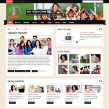 A Twitter-Bootstrap-based theme for educational institutions.