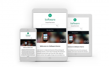 Software responsive theme