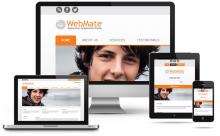 WebMate Responsive Theme