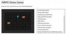 DRPG demo game