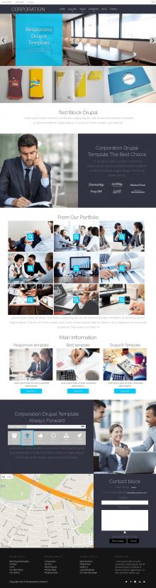 Corporation - Drupal Business Theme