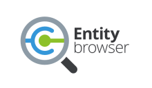 Entity browser logo by David Ličen