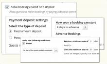 Powerful Rules for Booking
