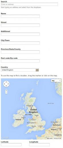 Getlocations Fields screenshot