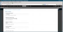 New Configure page screenshot