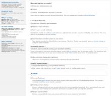 HybridAuth settings