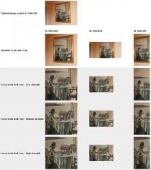 Focus Scale and Crop ImageCache action compared to standard Scale And Crop