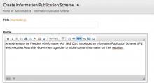 Create IPS Screenshot
